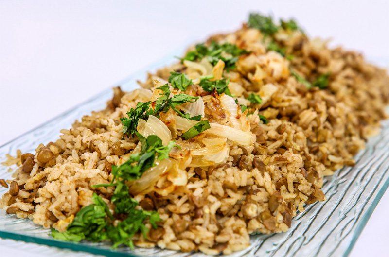 אורז ועדשים מג'דרה