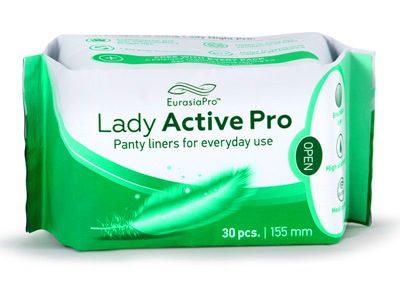 פדים היגיניים Lady Active Pro
