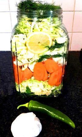 ירקות כבושים