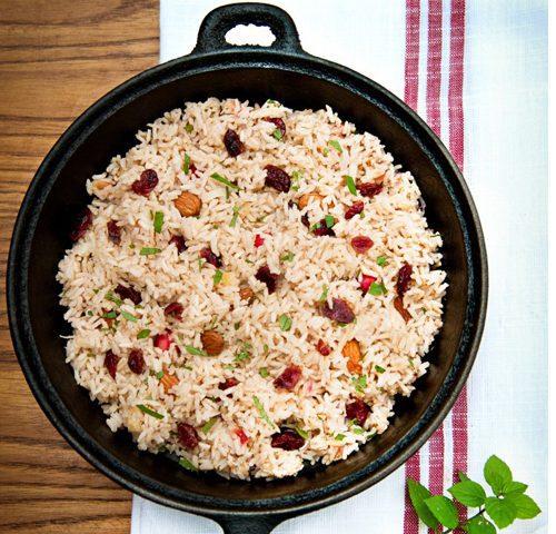 אורז סמטי עם אמרנט