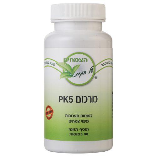 כורכום PK5 במבצע מוצר שני בחצי מחיר